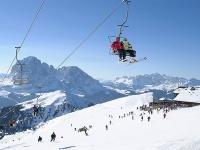 Winter in Val Gardena