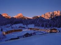 Winter Hotel view