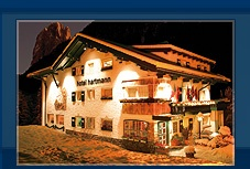 Located on a rise, the Hartmann, one of the smallest hotels in Ortisei, offers a beautiful panoramic