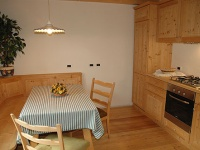 Kitchen in natural wood