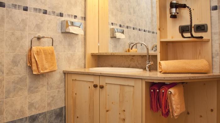 Arbea apartments ortisei val gardena - Riscaldamento bagno ...