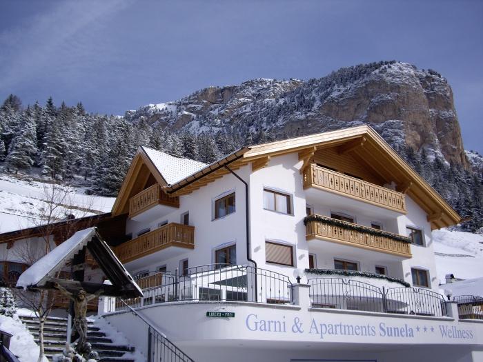 Garni sunela wolkenstein gr den for Design hotel wolkenstein